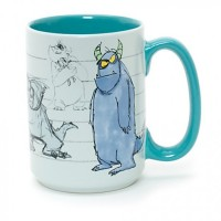Sulley Concept Art Mug, Monsters, Inc.